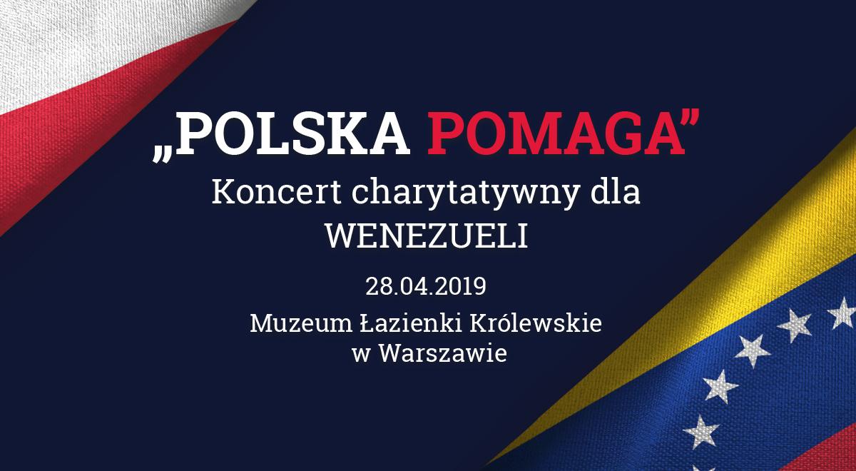 W Niedzielę Koncert Polska Pomaga Minister Kultury