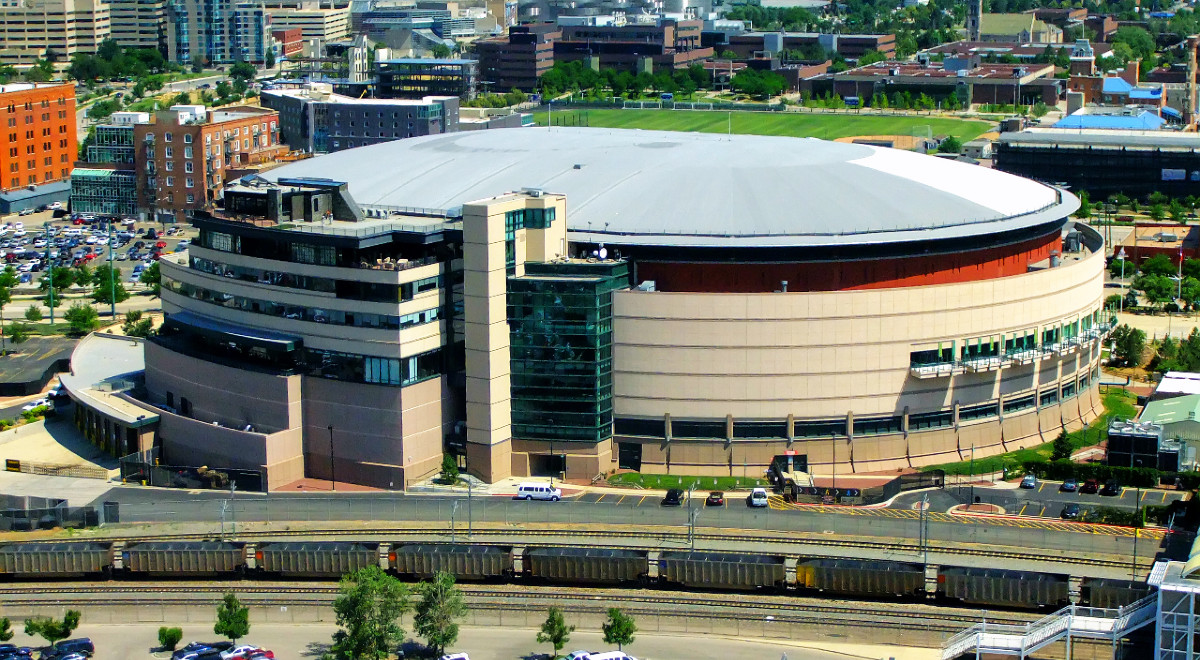 Pepsi Center w Denver, USA
