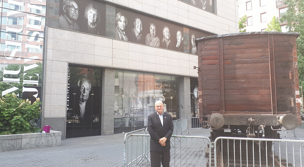 Jack Kliger, CEO and President of the Museum of Jewish Heritage in New York