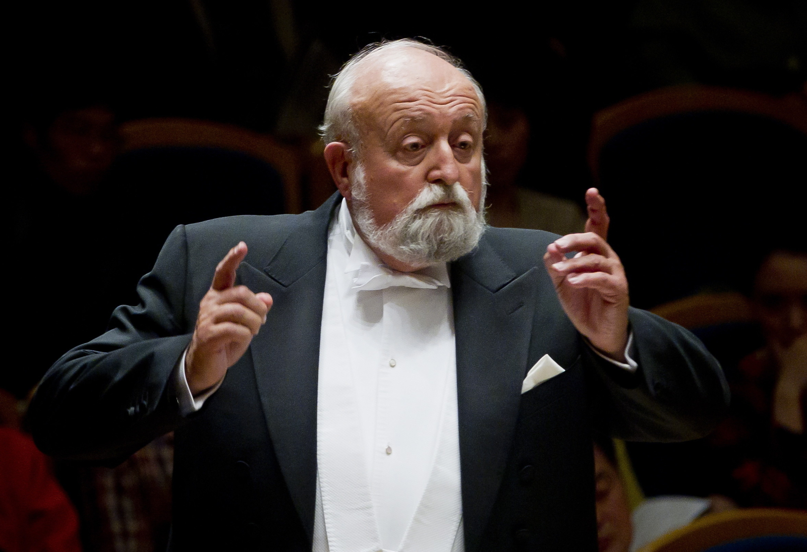 Российские музыканты почтили память польского композитора Кшиштофа Пендерецкого