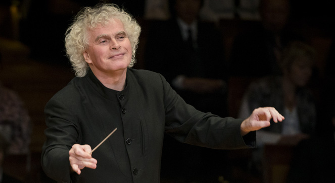 Dyrygent Simon Rattle