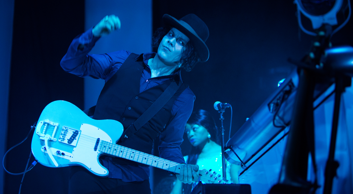 Jack White z duetu The White Stripes
