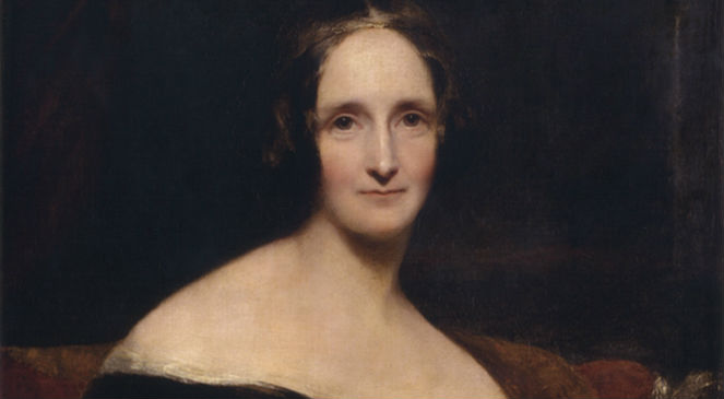 Portret Mary Shelley pędzla Richarda Rothwella, źr. Wikimedia Commonsdp