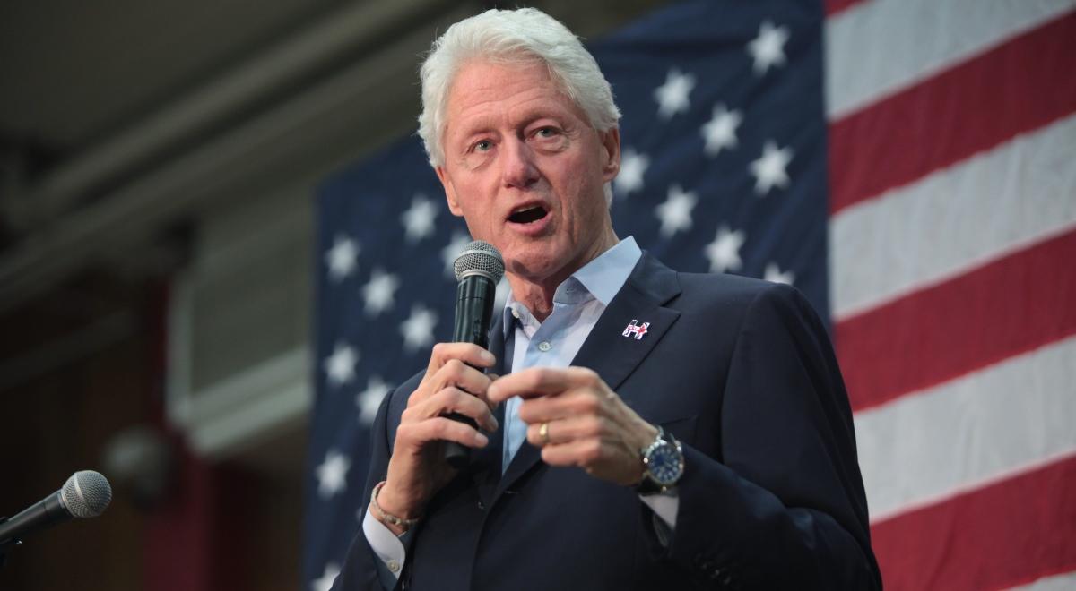 Bill clinton jest chory