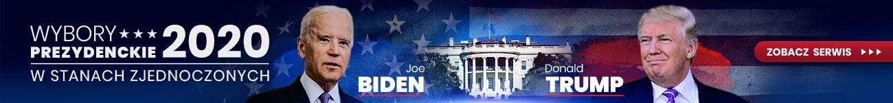 baner wybory prezydenckie w usa 2020