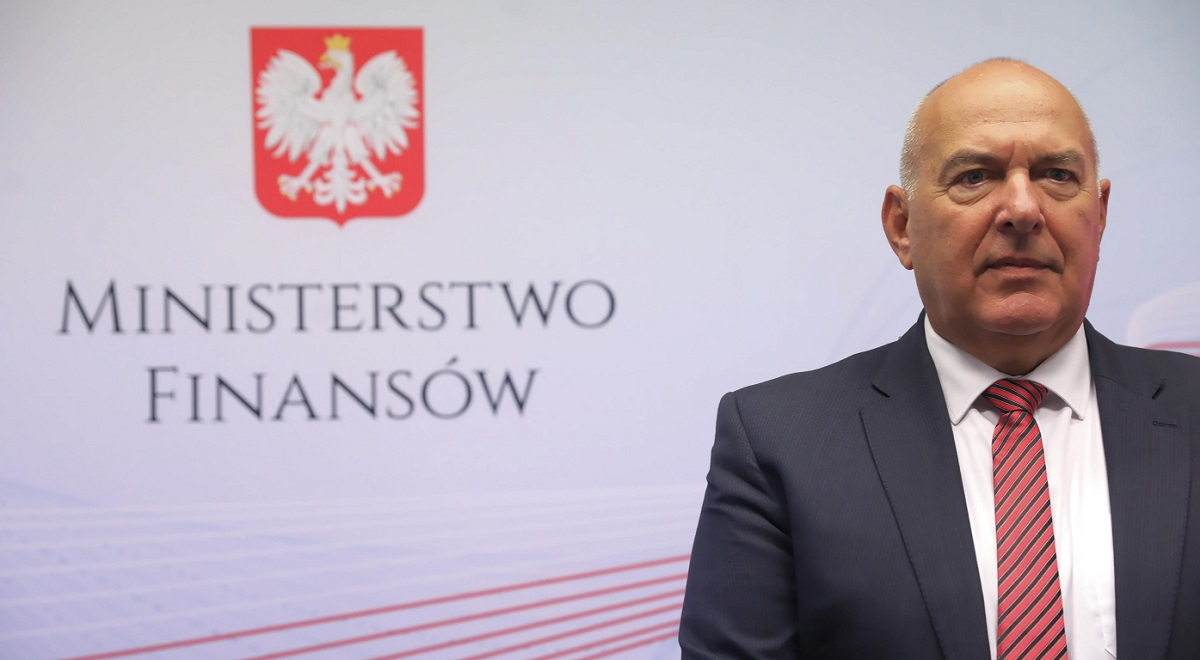 Polish Finance Minister Tadeusz Kościński