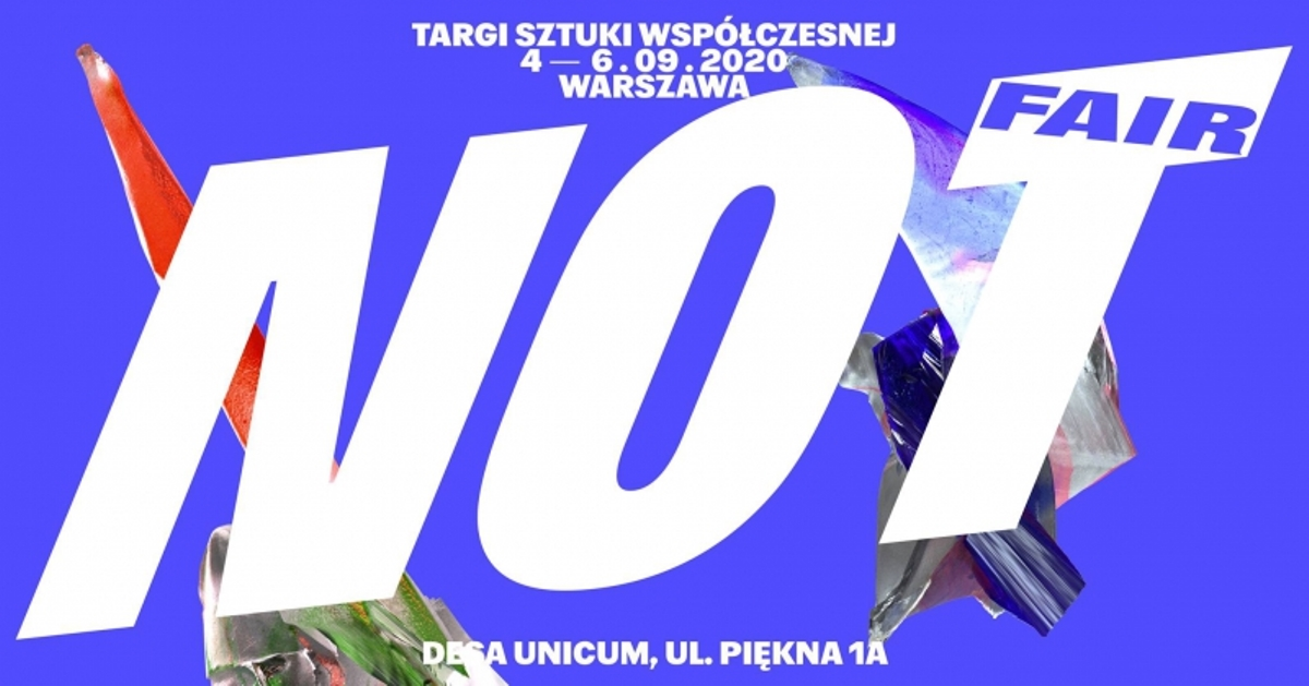 Plakat Targów NOT FAIR 2020