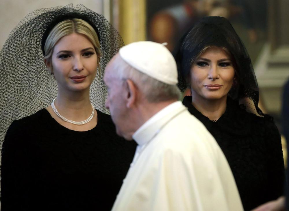 edbb80a29f64e2 7 kobiet, które mogą być ubrane na biało podczas audiencji u papieża -  Wiadomości - polskieradio24.pl