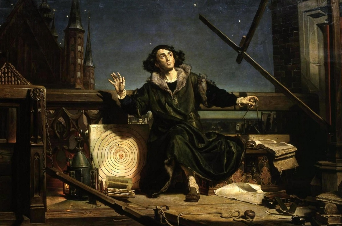 Jan Matejkos painting Astronomer Copernicus, or Conversations with God